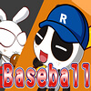 Panda vs Rabbit Baseball